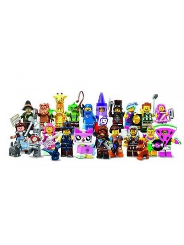 The Lego Movie 2 (The Wizard of Oz) 71023 - Lego Minifigures - Serie completa di 20 personaggi