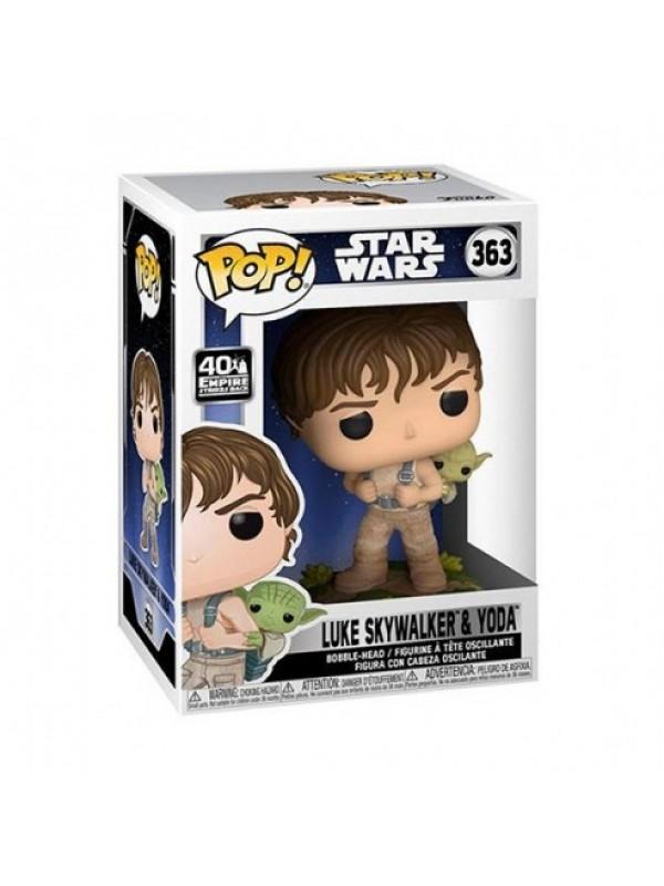 Luke Skywalker & Yoda - Star Wars - Vinyl Bobble-Head - Funko - POP! 363