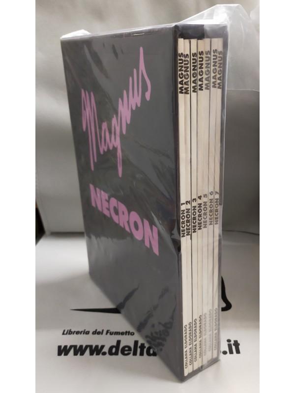 Necron - Magnus - Edizione Nuova Frontiera - Serie Completa di 4 volumi cartonati