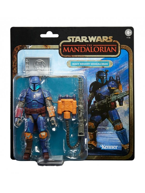 Heavy Infantry Mandalorian - The Mandalorian Star Wars - Action Figure - Kenner Hasbro