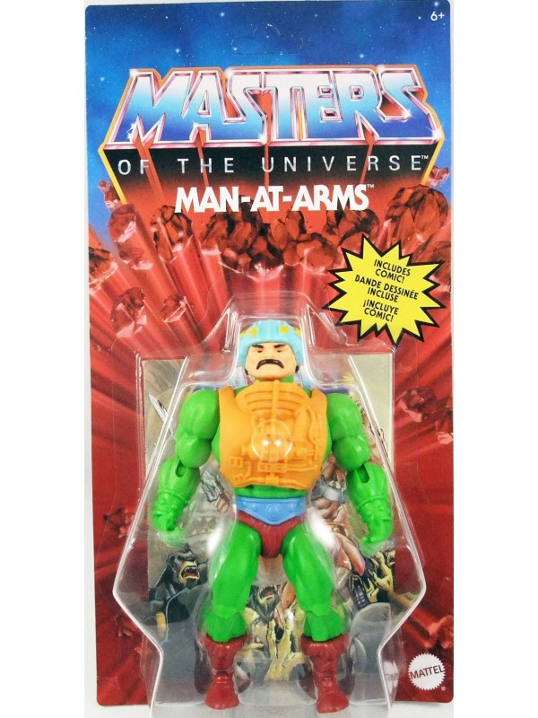 Man-At-Arms - Masters of the Universe (Origins) - Action Figure 14 cm - Mattel