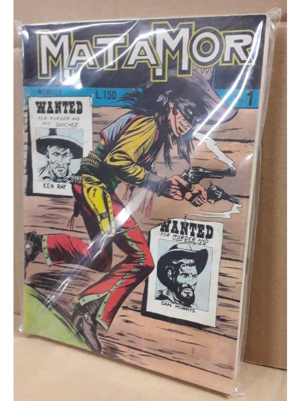 MATAMOR - SAES Editore - 1969 - Sequenza in blocco 1/3