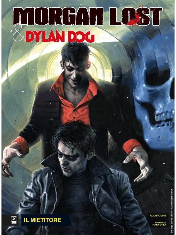Morgan Lost & Dylan Dog (Il Mietitore/Il Ritorno dell'Oscurità) - Bonelli - Miniserie completa 1/2