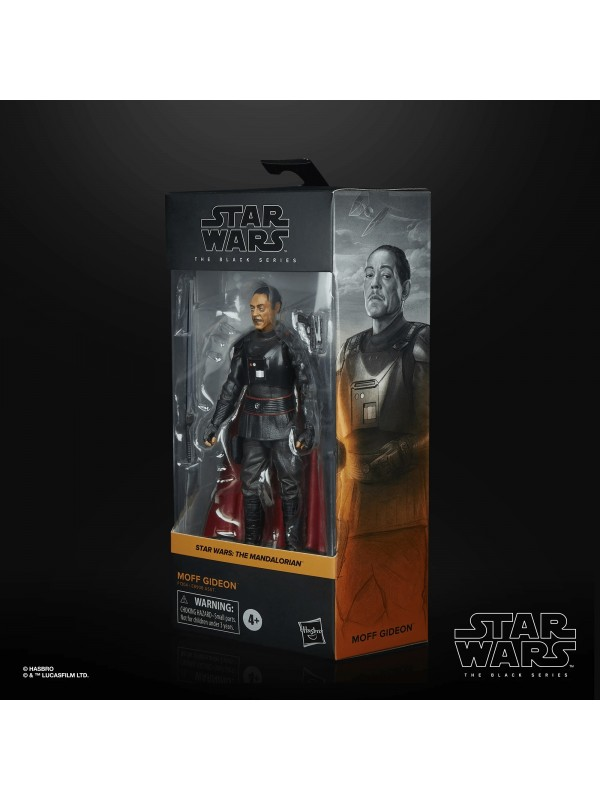 Moff Gideon - Star Wars: The Mandalorian - Star Wars The Black Series - Action Figure - Hasbro