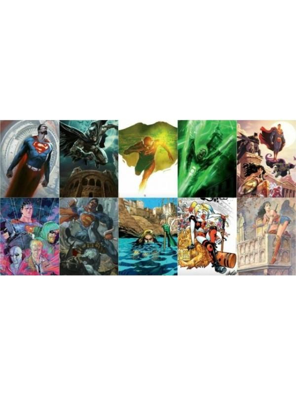 Pack di 10 albi Variant MUSEUM EDITION DC COMICS - Set Completo
