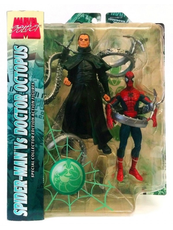 Spider-Man Vs Doctor Octopus - Special Collector Edition Action Figures - Marvel Select