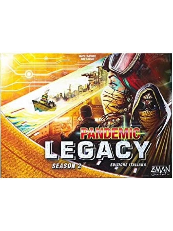 PANDEMIC LEGACY SEASON 2 - SCATOLA GIALLA - Z-Man Games - Asmodee