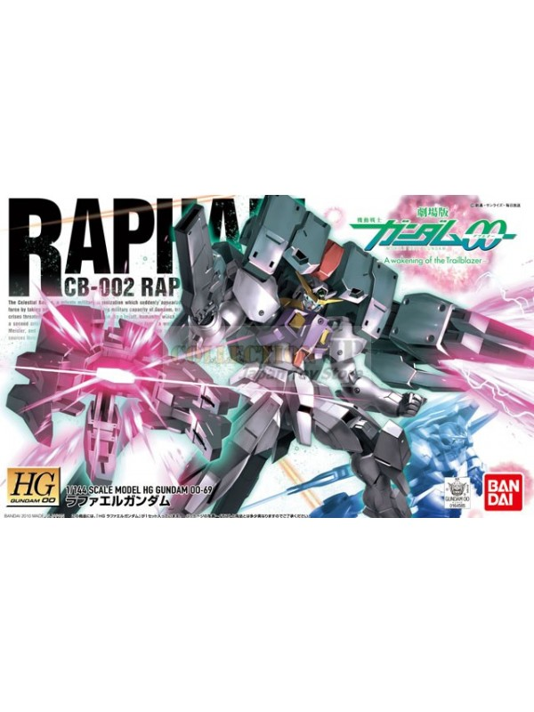 Raphael CB-002 Raphael Gundam - 1/144 Scale Model HG Gundam 00-69 - Mobile Suit Gundam - A Wakening of the Traiblazer