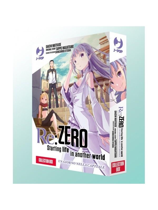 Re:Zero Starting Live in another world - Un Giorno nella Capitale - JPOP - Collection Box - Serie Completa 1/2 con Cofanetto