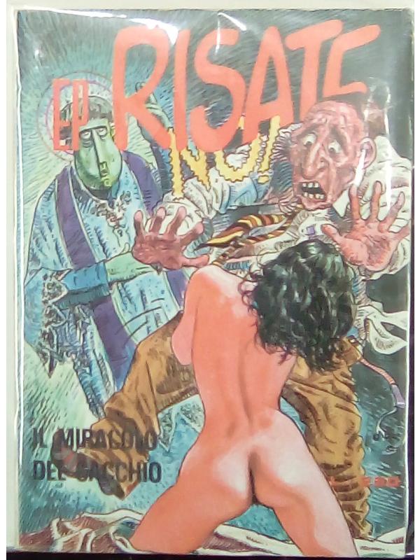 EP Risate n. 9 - Il Miracolo del Cacchio - EP Comics - Ediperiodici (Milo Manara)
