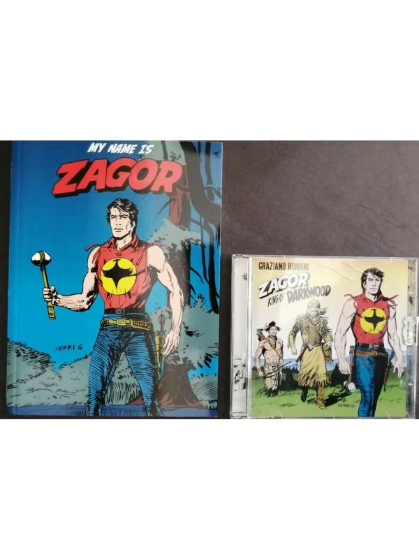 My name is Zagor + CD Zagor King of Darwood - Panini Comics