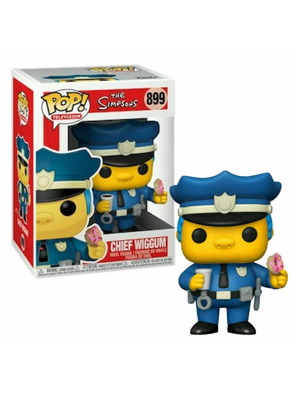 Chief Wiggum - The Simpsons - Vinyl Figure - Funko - Pop! Television 899