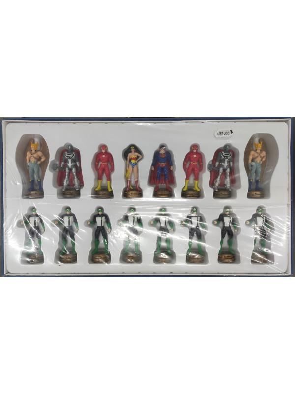 """Super Heroes - Special Collection - Scacchi per un giocatore (""""16 pezzi bianchi"""")"""