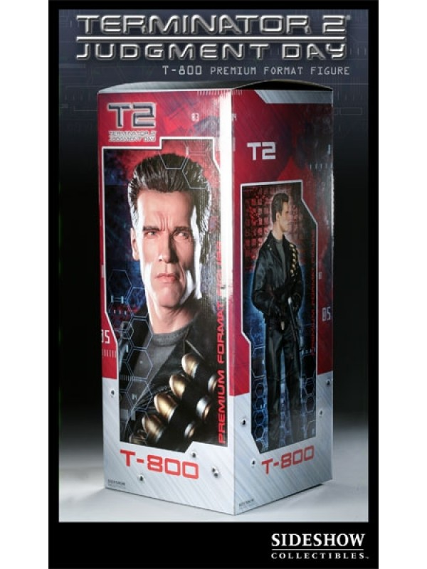 T-800 - Terminator 2 Judgment Day (T2) - Sideshow Exclusive - Premium Format Figure