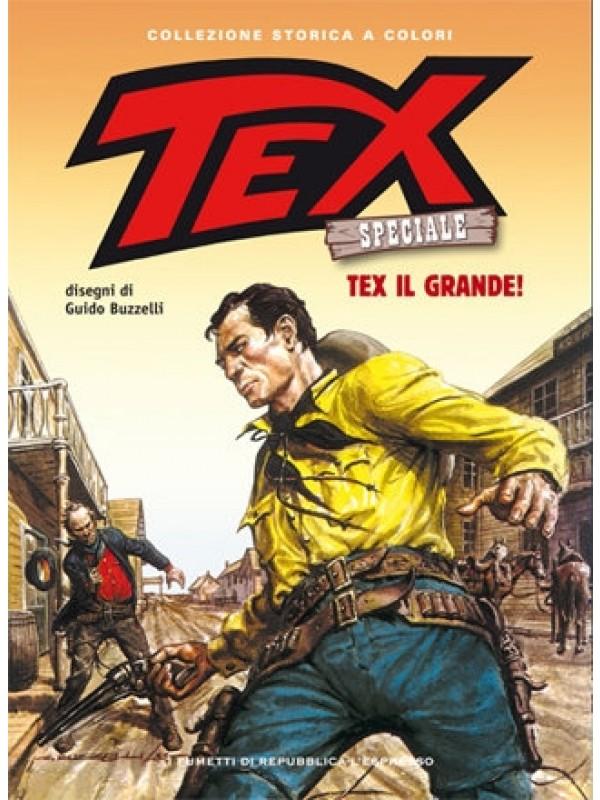 Tex Speciale - Collezione storica a colori - I Fumetti di Repubblica L'Espresso - Serie completa 1/25