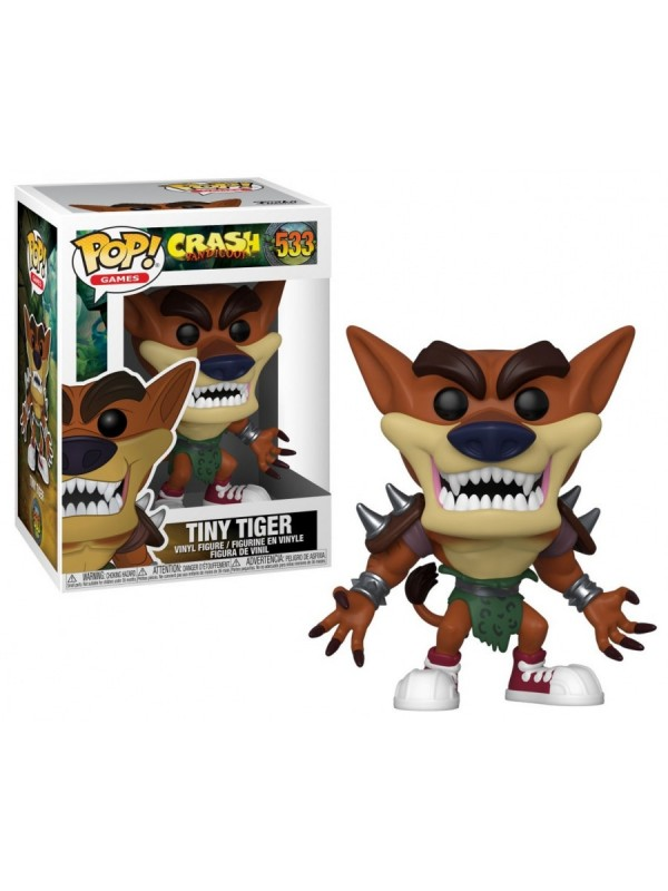 Tiny Tiger - Crash Bandicoot - Pop! Games 533