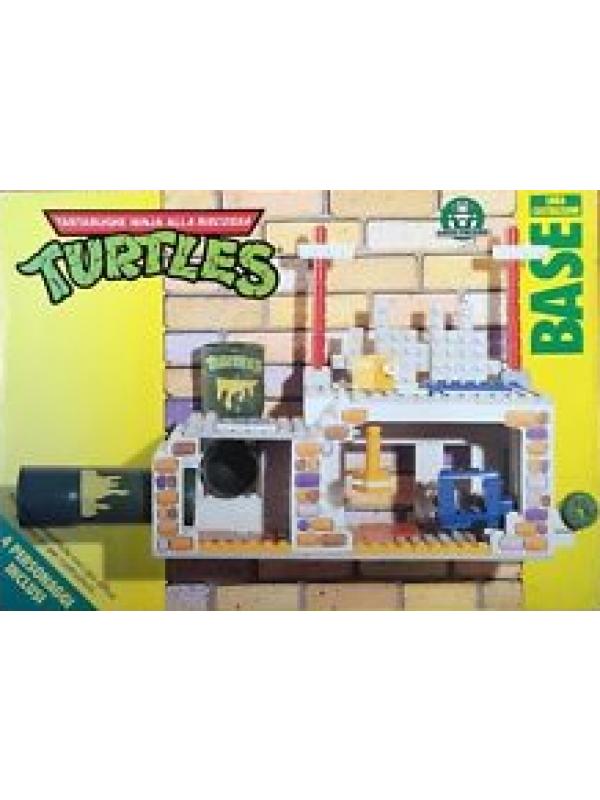 Turtles - Base - Linea Costruzioni - Giochi Preziosi