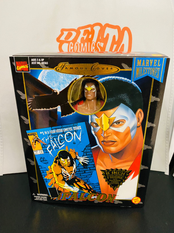 Marvel - Famous Cover Series - Falcon - Action Doll 20 cm - Toy Biz