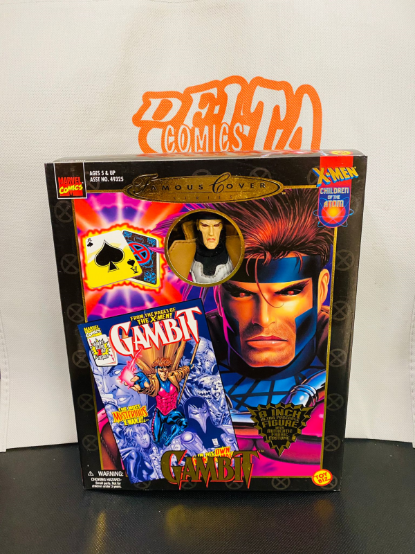 Marvel - Famous Cover Series - Gambit - Action Doll 20 cm - Toy Biz