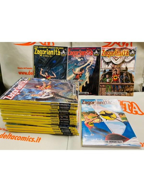 Zagorinità Rivista/Fanzine nn. 1/17 - Serie completa - Sergio Bonelli Editore