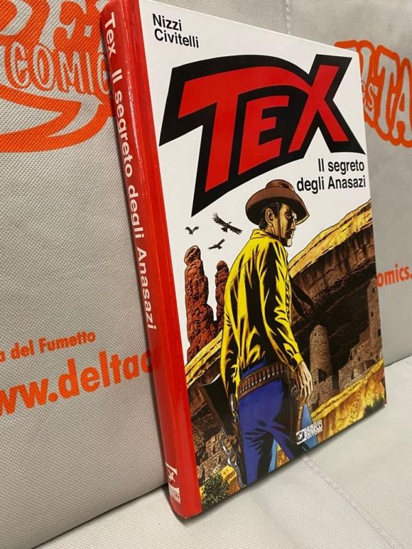 Tex - Il segreto degli Anasazi - Volume Cartonato a colori - Sergio Bonelli Editore