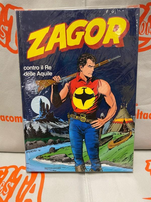 Zagor Contro il Re delle Aquile - Volume Cartonato a colori 2001 - Edizione Mondadori
