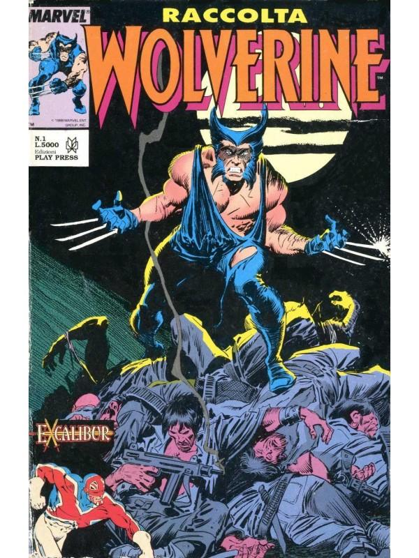 Raccolta Wolverine - Play Press - Sequenza in blocco 1/8