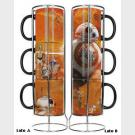 Star Wars - Mug Set BB8 - 3 tazze con espositore