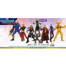 Guardians of The Galaxy Vol. 2 - Marvel Legends Series - Build A Figure Mantis - Pack di 7 Action Figure + personaggio bonus
