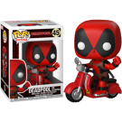 DEADPOOL on Scooter - Deadpool - Bobble-Head - POP! Rides 48