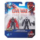 Marvel's Falcon VS. Marvel's War Machine - Miniverse - Avengers - Captain America Civil War