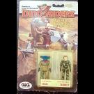 Finn e Turret - DinoRiders - GIG - Set di 2 mini action figure