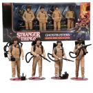 Dustin, Mike, Will & Lucas - Stranger Things - Ghostbusters