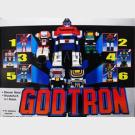 GodTron Space Combination Deluxe Set (Godmars) - Diecast Metal