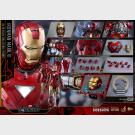 Iron Man Mark VI - Avengers - HOT TOYS - Movie Masterpiece Series Diecast - MMS378-D17