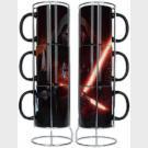 Star Wars - Mug Set Kylo Ren - 3 tazze con espositore