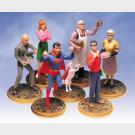 The Silver Age Smallville - Seven-piece PVC set