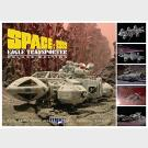 Space: 1999 - Eagle Transporter - Deluxe Edition - Multi Media Model Kit