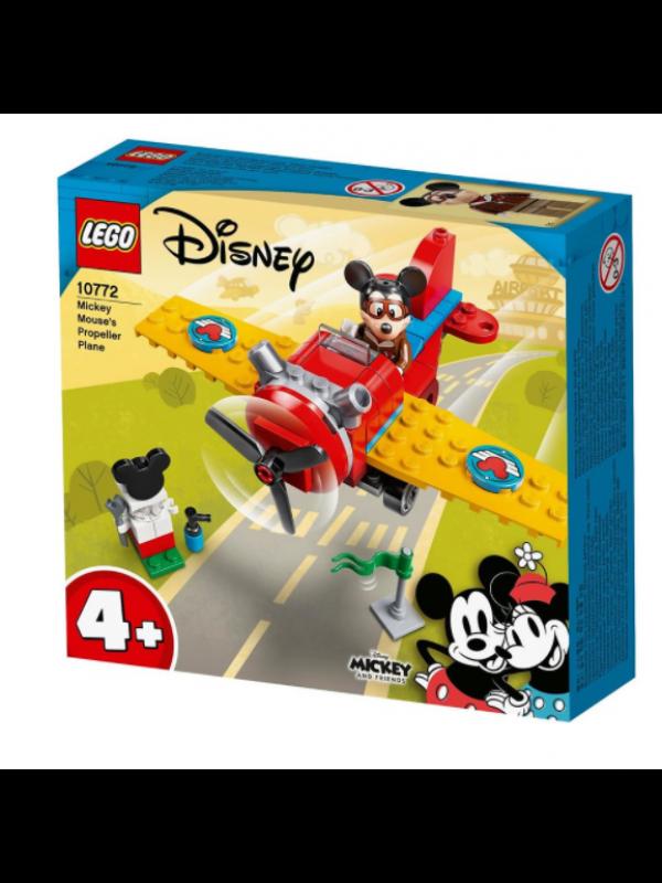Lego 10772 - L'aereo a elica di Topolino - Disney Mickey and Friends