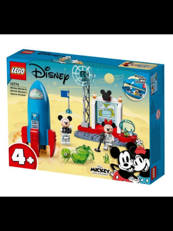 Lego 10774 - Il razzo spaziale di Topolino e Minnie - Disney Mickey and Friends
