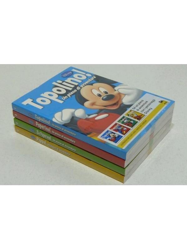 Un pieno di avventure - Serie Completa nn. 1/4 - Walt Disney Company