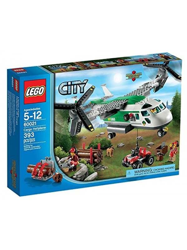 LEGO City Airport 60021 - Biplano Merci