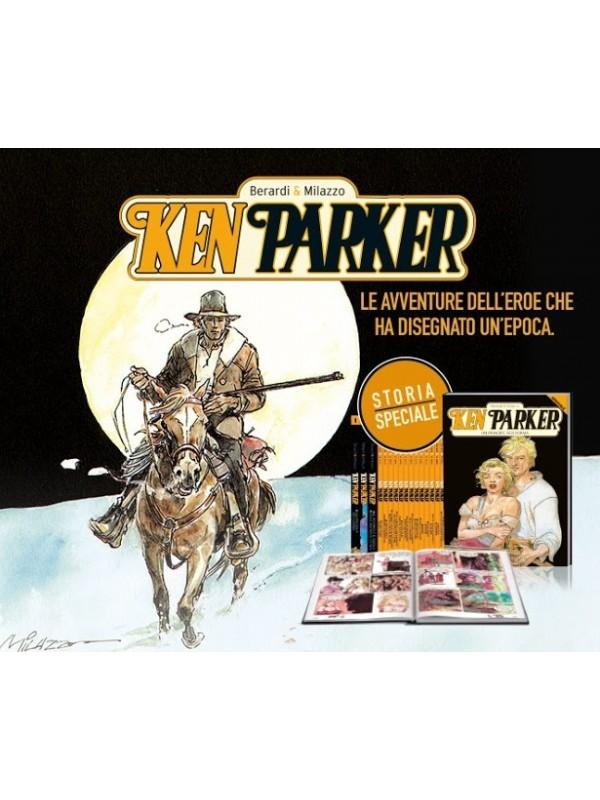 Ken Parker a colori 1/13 + speciali cartonati 1/3 serie completa - La Repubblica/L'Espresso