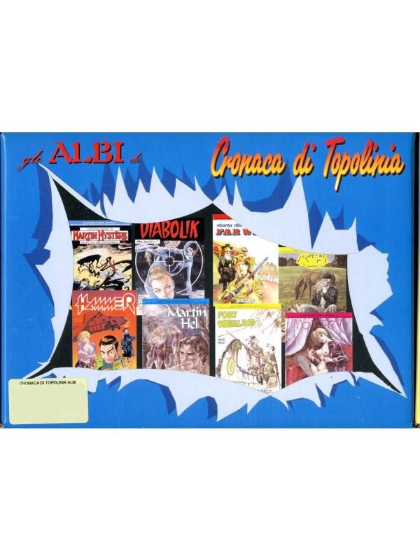 Gli Albi di Cronaca di Topolinia - Raccolta 13 Albi Speciali con Cofanetto