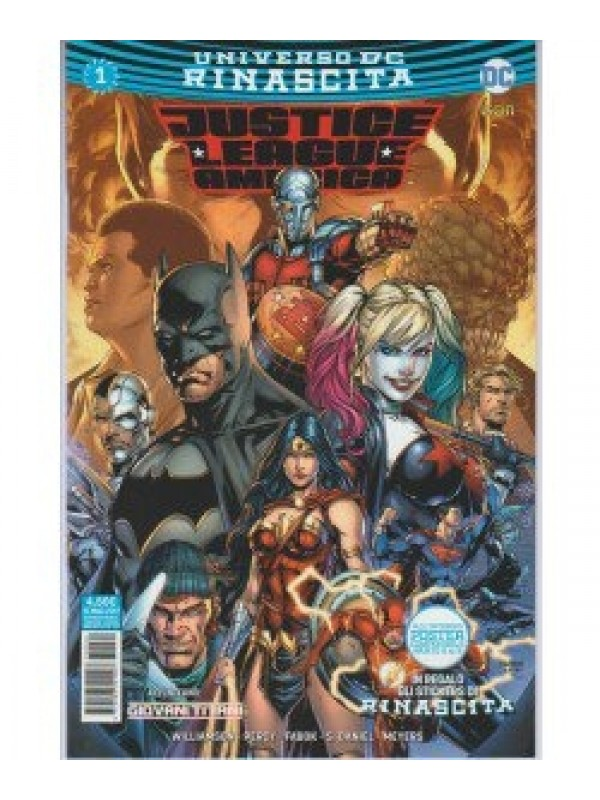 Justice League America - Rinascita - Lion - Serie Completa 1/20