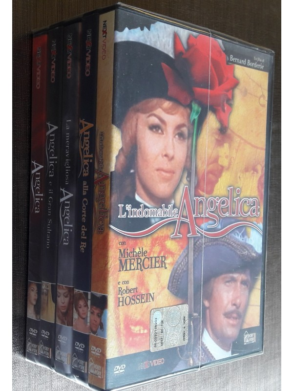 Angelica - Hobby & Work/Next Video - Serie completa di 5 dvd