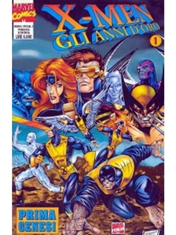 X-Men Gli Anni D'Oro - Marvel Special - Panini Comics - Serie completa 1/13