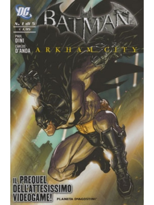 Batman Arkham City - Planeta DeAgostini/Lion - Serie completa 1/5