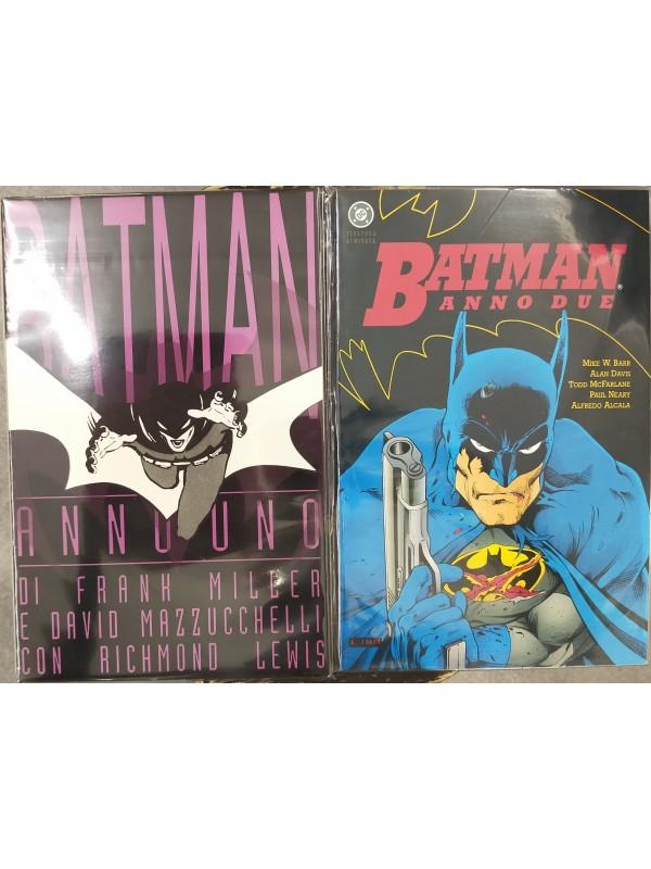 Batman: Anno Uno e Anno Due - Play Press - Pack di 2 volumi brossurati