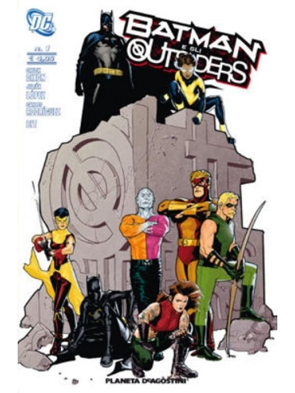 Batman e gli Outsiders - Planeta DeAgostini - Serie completa 1/5